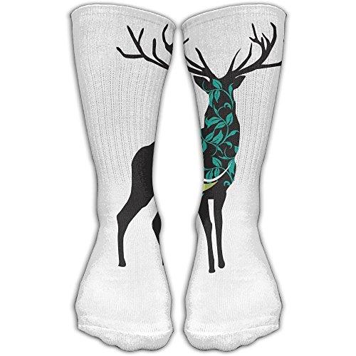 Deer Women & Men Socks Soccer Sock Sport Tube Stockings Length -