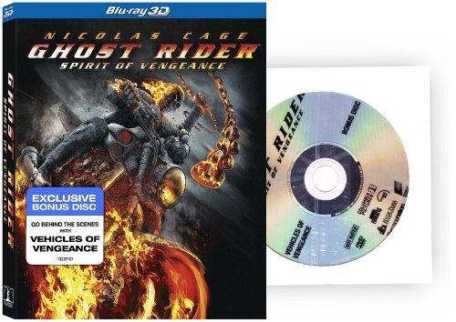 Ghost Rider Spirit of Vengeance 3D with BONUS DISC (Ghost Rider Spirit Of Vengeance Release Date)