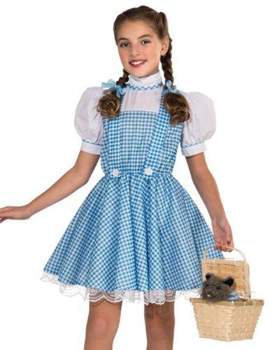 Dorothy Deluxe Kids Costume (Dorothy Wizard Of Oz Costume)