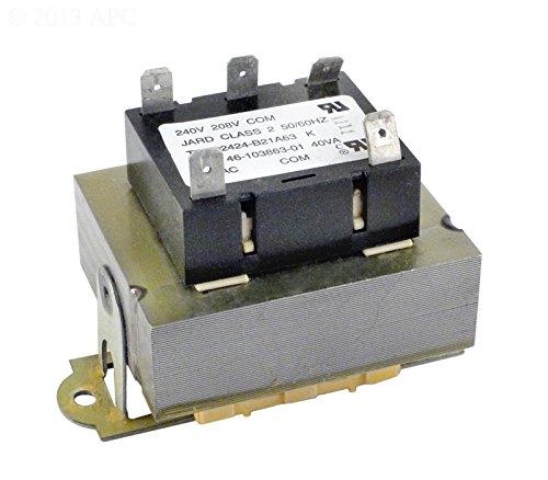 Raypak Transformer (Raypak H000023 Analog Transformer Control Box for R5350 R6350 R8350 Heat Pump)