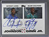 Calvin Johnson; Marshawn Lynch; Ted Ginn Jr.; Adrian Peterson Unauthenticated None Must Be Authenticated (Football Card) 2007 Topps - Rookie Premiere Quad Autographs #JGLP