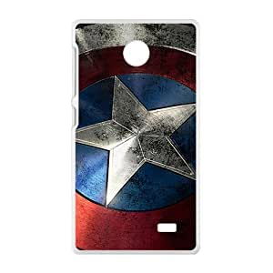 Capital America Pattern Stylish High Quality Comstom Protective case cover For Nokia Lumia X
