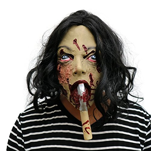Vicious Costumes Mutant Adult (Men's Vicious Mutant Latex Mask (Sickle)