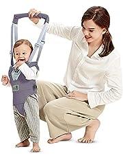 Arnés de Seguridad para Caminar Ajustable Arnés de Bebe a Pie de Caminado Aprendizaje Chaleco Arneses para Niños Andador Arnés Tirantes Con Correa y Hebilla de Bebé Protección 8-24 meses
