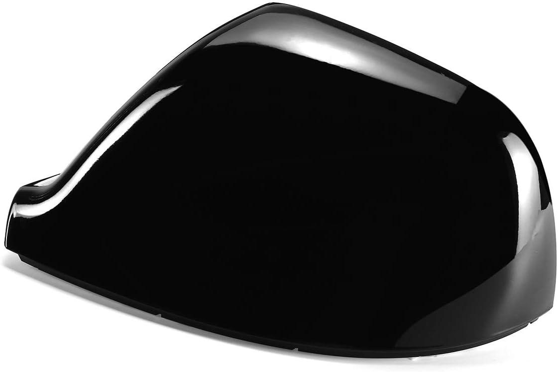 Couverture Blanc brillant//Noir Vue voiture arri/ère lat/éral Embout de remplacement for VW for Volkswagen Transporter T5 for T5.1 T6 7E1857527F Color : Black Left