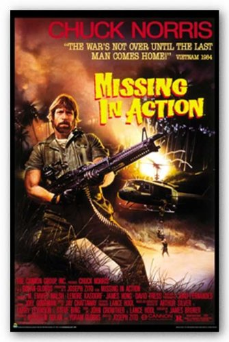 Missing In Action Movie Chuck Norris Poster Print