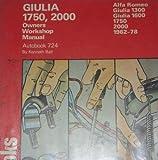 Alfa Romeo Giulia 1750, 2000 1962-78 Autobook