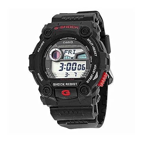 Casio Men's G7900-1 G-Shock Rescue Digital Sport Black Resin Watch (Mens Digital Sports Watch G Shock)