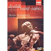 Mstislav Rastropovich: Concierto De Celo Dvorak/Saint-Saens [DVD]