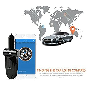 StarSpotter GPS Car Vehicle Tracker USB Charger Real-time Locator Cleaning up Air Inside Vehicle Tracking System with Diagnostics