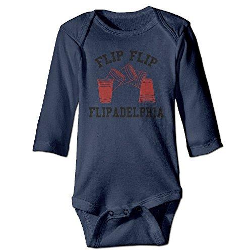 Kids It's Always Sunny In Philadelphia FLIP ADELPHIA Long-sleeve Romper Jumpsuit