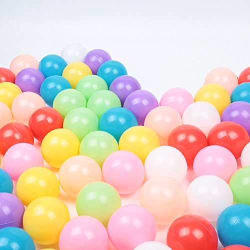 300 pcs Baby Kid Pit Toy Game Swim Pool Soft Plastic Ocean Ball 5.5cm