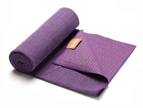 Hugger Mugger Eco Bamboo Yoga Towel, Violet
