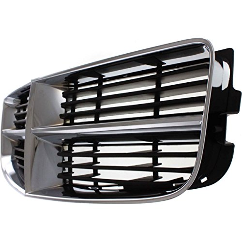Diften 102-A8467-X01 - New Grille Assembly Grill Chrome shell black insert Charger CH1200296 4806180AB ()