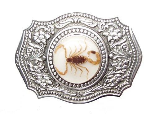 Lucite Treasures Golden Scorpion Buckle Small Circle (Scorpion Buckle)