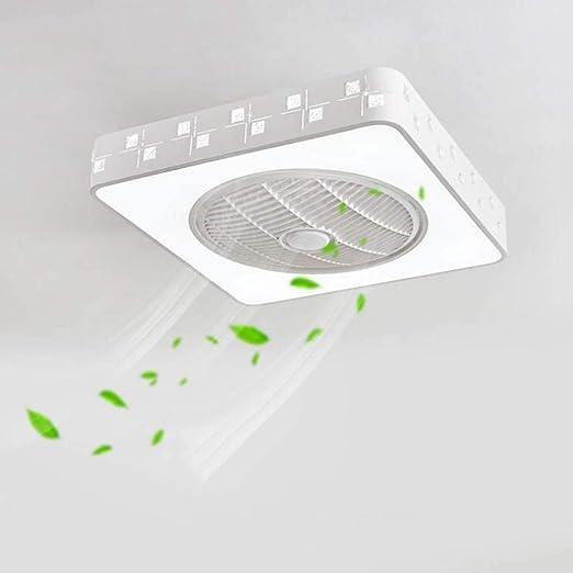 Luz de techo LED de 20 pulgadas con control remoto, 2 en 1 Lámpara ...