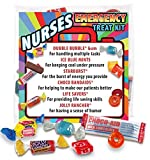 Nurses Emergency Treat Kits (6 pack) Fun Staff Survival Kits for National Nurses Week Gifts