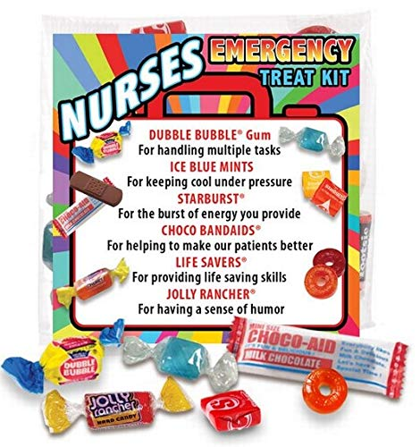 Nurses Emergency Treat Kits (6 pack) Fun Staff Survival Kits for National Nurses Week Gifts by Promos On-Time (Image #1)