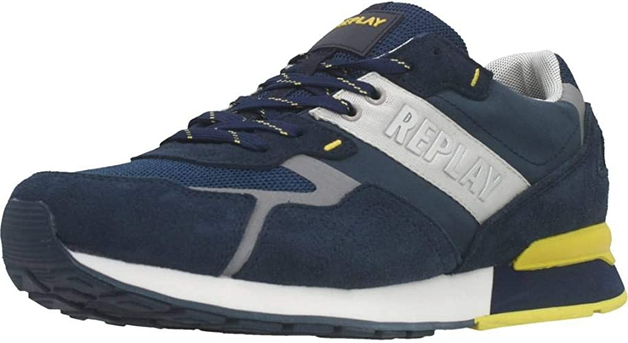 REPLAY Men Shoes Bowland: Amazon.co.uk