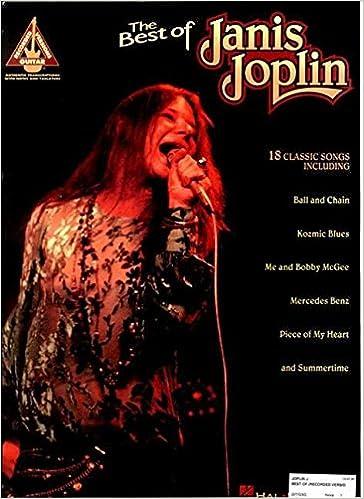 Amazon.com: JANIS JOPLIN BEST OF 18 CLASSIC SONGS (Guitar Recorded ...