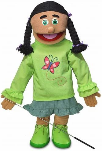 "B001BJBVTI 25"" Jasmine, Hispanic Girl, Full Body, Ventriloquist Style Puppet 51rap70vZIL"