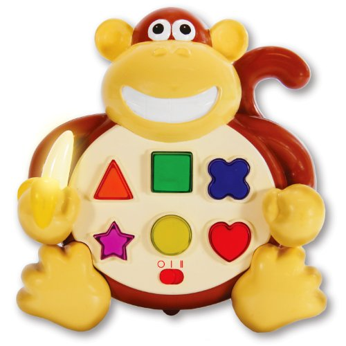 The Learning Journey Early Learning Colors & Shapes Monkey