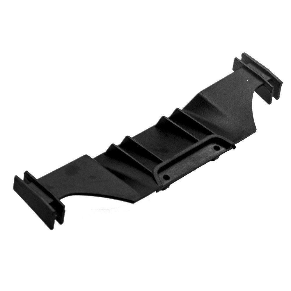 XUNJIAJIE Schwarz Plastic Kunststoff Heckflügel Hintere Spoiler für 3racing Sakura D4 1:10 RC Car Pack of 1Stück