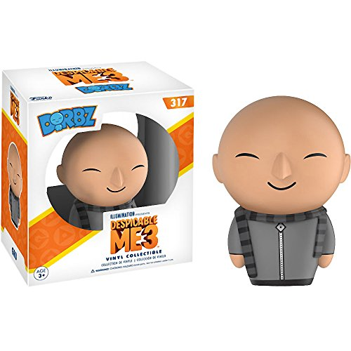 Funko Gru Dorbz x Despicable Me 3 Vinyl Figure + 1 Free CG Animation Themed Trading Card Bundle (13724)]()