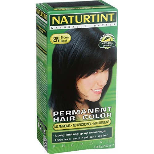 2n Brown Kit Black (Naturtint Hair Color 2N Black Brown kit ( Multi-Pack) by Naturtint)