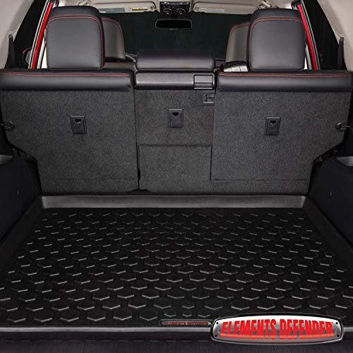 (2011 - 2017 Toyota 4Runner Cargo Mat by Elements Defender Heavy-Duty All-Weather Trunk & Cargo Liner - 100% Weather Proof - Fits All 4 Runner Models Between 2011 - 2017)