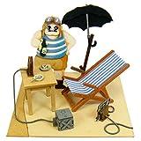 Miniatuart Kit Studio Ghibli mini Porco Rosso Porco's Secret Hideout Complete Model Figure Sankei Animation Film Hayao Miyazaki