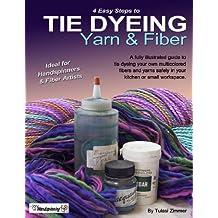 Tie Dyeing Yarn & Fiber