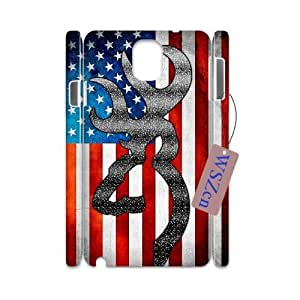 Browning DIY 3D Phone Case for Samsung Galaxy Note3 N9000,Browning custom 3d phone case