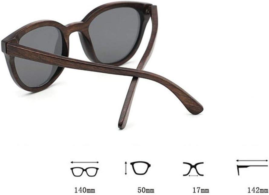 Farbe : Zebra Wood+Tea GSSTYJ UV400 polarisierte Holz Sonnenbrillen//handgefertigte Brillen f/ür Frauen beim Reisen Outdoor-Sport und Aktivit/äten//als Geschenke f/ür Freunde und Verwandte