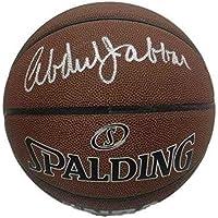 $301 » Autographed Kareem Abdul-Jabbar Basketball - 19167 - PSA/DNA Certified - Autographed Basketballs