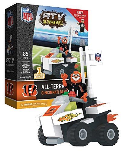 Oyo Sportstoys NFL Cincinnati Bengals Sports Fan Bobble Head Toy Figures, Black/Orange, One Size