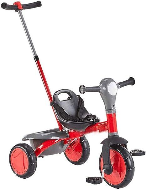YLZT Triciclo Infantil Trolley 2-3-4 años bebé Trolley Bicicleta ...