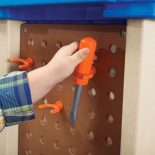 51raqsYsP2L - Step2  Handy Helpers Workbench Building Set