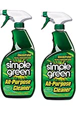 Simple Green 32 Ounce. Concentrated All-Purpose Cleaner 2 Pack (Bottle Style May Vary)