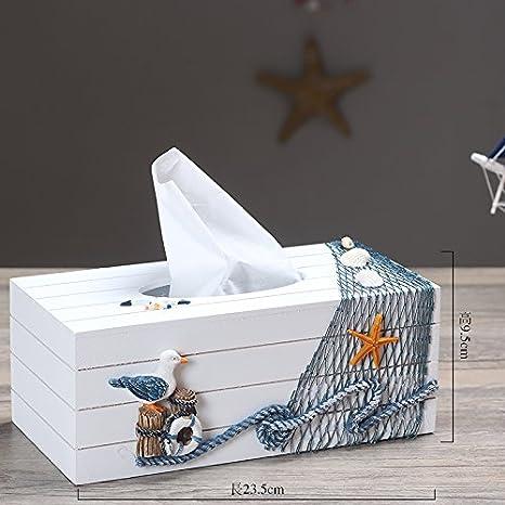 STJK$BMJW Adorno De La Casa Hogar Una Toalla De Papel, Caja De Madera Caja De Papel Servilleta,Un Cartón: Amazon.es: Hogar
