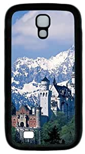 Cool Painting Neuschwanstein Castle PC Silicone Case Cover for Samsung Galaxy S4/I9500