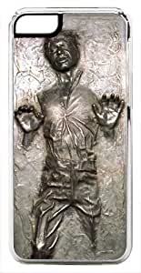 iPhone 6 Case, CellPowerCasesTM Han Solo Carbonite (Flat Back Not 3D) [HD Series] - iPhone 6 (4.7) Clear Case [iPhone 6 (4.7) V3 Clear]