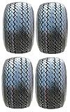 Full set of MotoSport EFX Pro Rider 18x8.5-8 (4ply) DOT Golf Cart Tires (4)