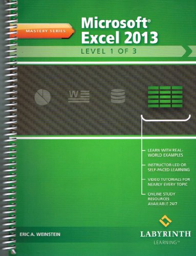 MICROSOFT EXCEL 2013:LEVEL 1 O