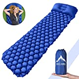 Best Backpacking Sleeping Pads - HULIONS Ultralight Sleeping Pad-Compact Inflatable Sleep Mat Review