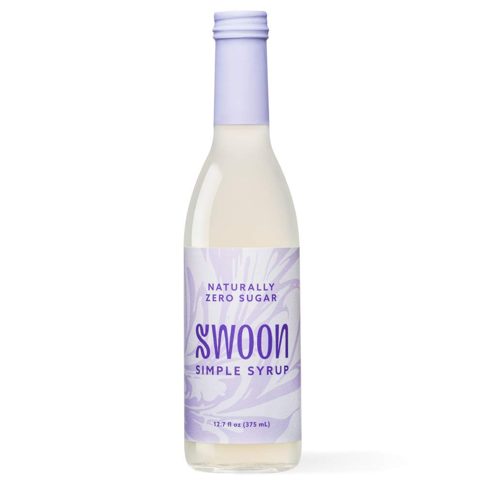 Swoon Zero Sugar Simple Syrup - Natural 1:1 Liquid Sugar Substitute - Sweetness from Monk Fruit - Sugar Free, Keto Friendly, Zero Carbs