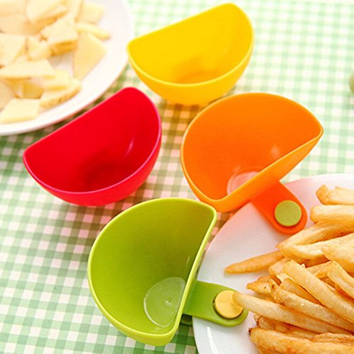 Money coming shop Hot sale 1Pcs Dip Clips Kitchen Bowl kit Tool Small Dishes Spice Clip For Tomato Sauce Salt Vinegar Sugar Flavor - Lennox Square