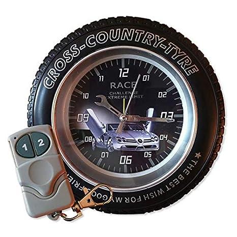 4 GB de la cámara espía rueda de cruz despertador controlado a distanc: Amazon.es: Electrónica