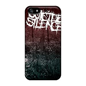Iphone 5/5s Cases Covers Skin : Premium High Quality Suicide Silence Cases