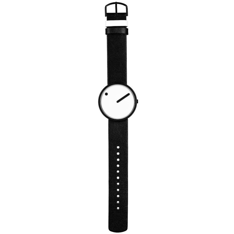 Rosendahl Unisex-Armbanduhr Picto Analog Quarz Leder 43379